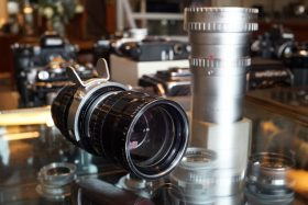 Angenieux Type L4 17,5-70mm 1:2.2 + wide converter. Arri std