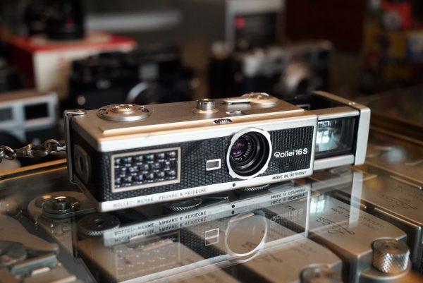 Rollei 16S w/ Tessar 25mm f/2.8