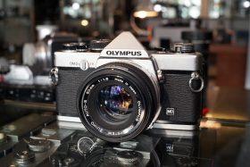 Olympus OM-2n + OM Zuiko 50mm f/1.8
