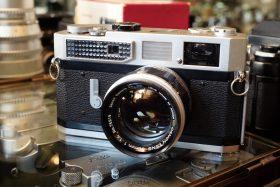 Canon 7 + Canon 50mm f/1.4 LTM