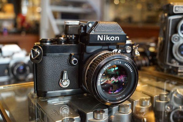 Nikon F2A Black + Nikkor 50mm f/1.4 AI