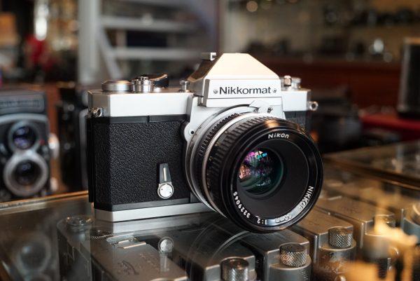 Nikkormat FT2 + Nikkor 50mm f/2 NAI