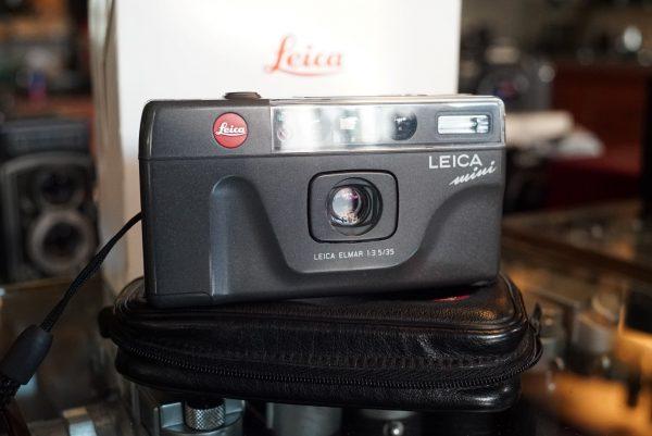 Leica Mini w/ Elmar 35mm f/3.5 Boxed