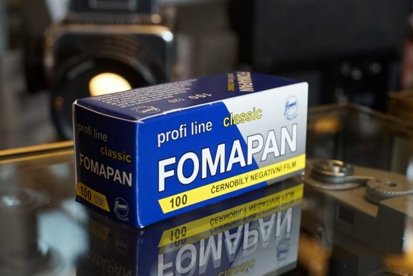 1x Foma Fomapan 100 classic 120 film