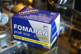 1x Foma Fomapan 100 Classic 135 / 36 film