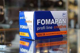 1x Foma Fomapan 200 Creative 135 / 36 film
