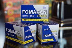 3x Foma Fomapan 100 Classic 135 / 36 film