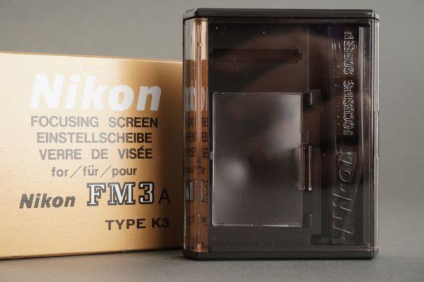 Nikon FM3a focusing screen type K3, Boxed