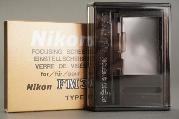 Nikon FM3a focusing screen type E3, Boxed
