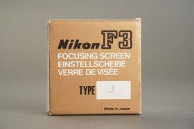 Nikon F3 focusing screen type J, BOXED