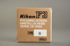 Nikon F3 focusing screen type M, BOXED