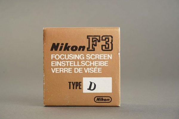 Nikon F3 focusing screen type D, BOXED
