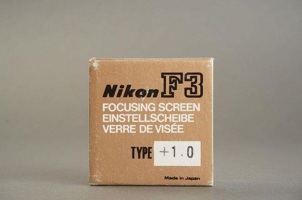 Nikon F3 diopter +1.0 , Boxed
