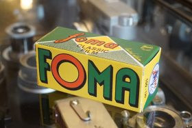 1x Foma Fomapan 100 Classic 120 Retro film, Limited Edition