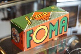 1x Foma Fomapan 200 Creative 120 Retro film, Limited Edition