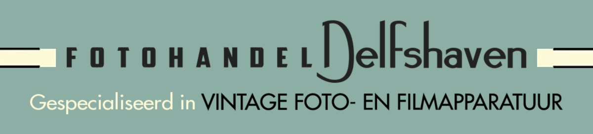 Fotohandel Delfshaven / MK Optics. Vintage cameras and lenses