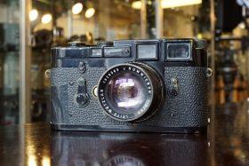 Leica M3 + Summicron 1:2 / 50mm, Black paint