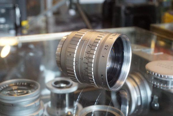Angenieux 25mm f/0.95 C mount