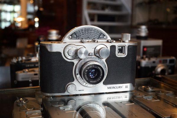 Univex Mercury II w/ Tricor 35mm f/2.7