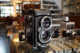 Rolleiflex 2.8E w/ Schneider Xenotar 80mm f/2.8