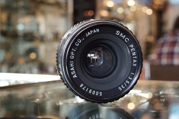 Pentax SMC-K 35mm f/3.5 PK