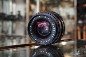 Leica Leitz Elmarit-R 2.8 / 28mm 3-cam