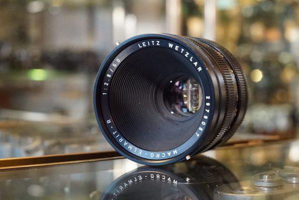 Leica Leitz Macro-Elmarit-R 2.8 / 60mm 3-cam