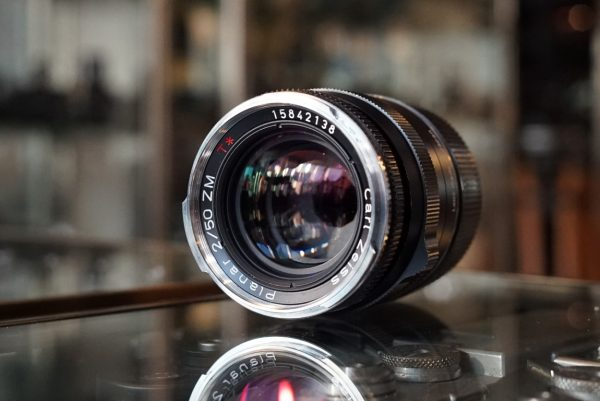 Carl Zeiss ZM Planar 50mm f/2 Black for Leica M