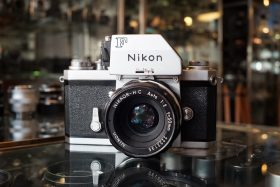 Nikon F Photomic FTn + Nikkor-HC 50mm f/2