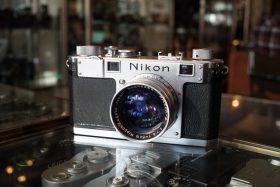 Nikon S Rangefinder + Nikkor-SC 5cm f/1.4