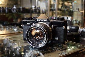 Olympus OM-2n black + OM Zuiko 50mm f/1.4