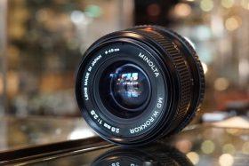 Minolta MD W.Rokkor 28mm f/2.8