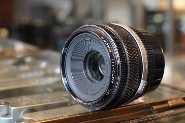 Olympus OM Macro 80mm f/4 MC for Bellows