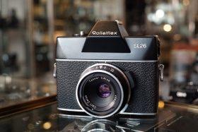 Rolleiflex SL26 + Tessar 40mm f/2.8