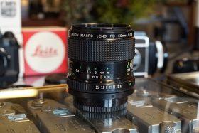 Canon FD Macro 50mm f/3.5 nFD