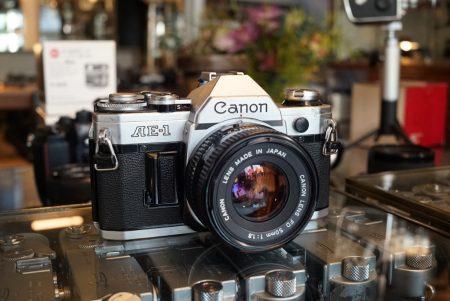 Canon AE-1 Program + Canon FD 1.4 / 50mm – Rental