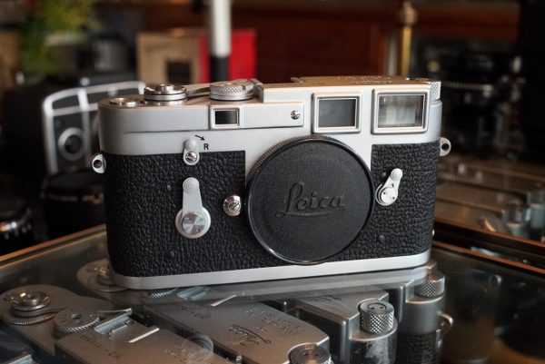 Leica M3 body, one of the last produced