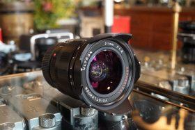 Voigtlander Ultron 21mm f/1.8 M Aspherical