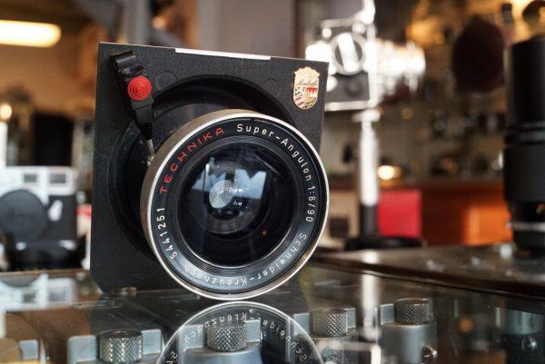 Schneider Super-Angulon 90mm f/8 Compur 00