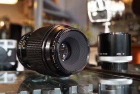 Canon FD 100mm f/4 Macro nFD + FD50 1:1 tube