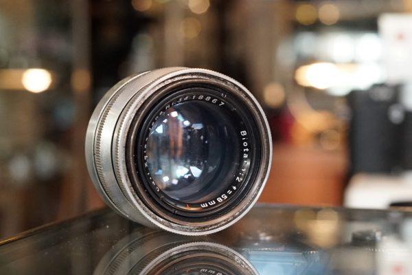 Carl Zeiss Jena Biotar 58mm f/2 T M42