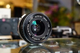 Olympus OM Zuiko 1:2.8 / 28mm lens