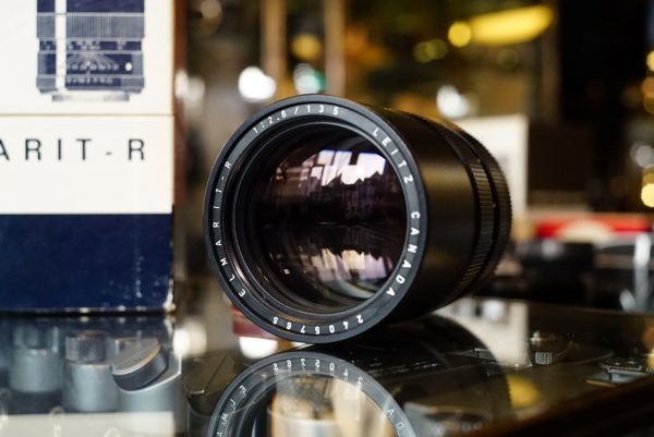 Leica Leitz Wetzlar Elmarit-R 135mm f/2.8 3cam Boxed