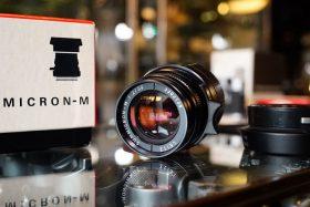 Leica Leitz Summicron 50mm f/2 V4 Boxed