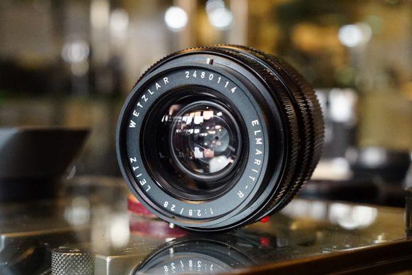 Leica Elmarit-R 28mm f/2.8 3cam Boxed