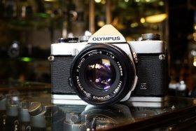 Olympus OM-1 MD + OM Zuiko 50mm f/1.8