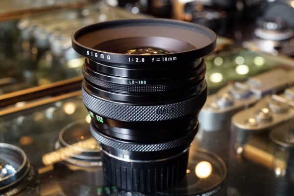 Sigma 18mm f/2.8 for Contax Yashica