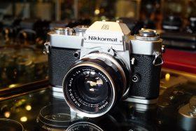 Nikon Nikkormat EL + Nikkor-S 35mm f/2.8 NAI