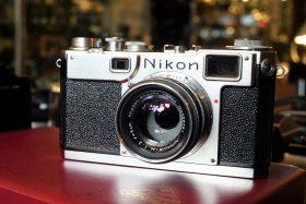Nikon S2 + Nikkor-H 5cm f/2