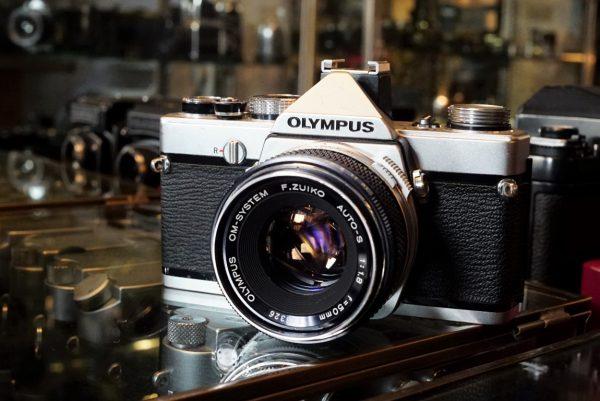 Olympus OM-1 + OM Zuiko 50mm f/1.8